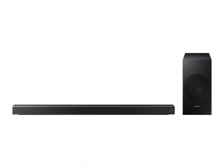 Soundbar Samsung HW-N550/EN, 340W, 3.1, Bluetooth, Subwoofer wireless, Negru