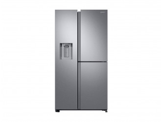 Side by Side SAMSUNG RS68N8650SL/EF Twin Cooling Plus, 608 l, Clasa Energetica A+, Inox