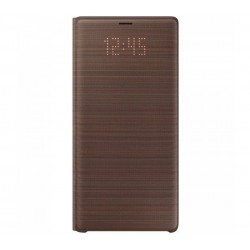 Husa LED View Cover pentru Samsung Galaxy Note 9, Brown