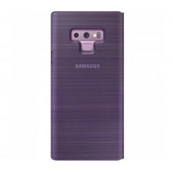 Husa LED View Cover pentru Samsung Galaxy Note 9, Violet