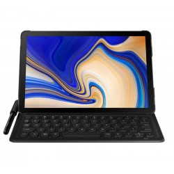 Husa Keyboard Cover Samsung Galaxy Tab S4 10.5, Black
